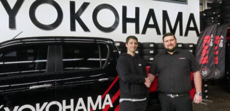 Yokohama increases its support of the RYCO 24•7 V8 Utes.